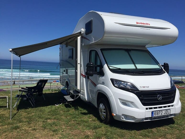 Alquiler de autocaravanas en Vizcaya y Pais Vasco