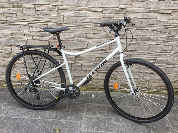 alquiler de autocaravanas bilbao bicicleta blanca btwin