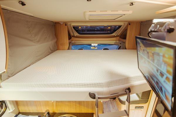 alquiler de caravanas T68 cama grande