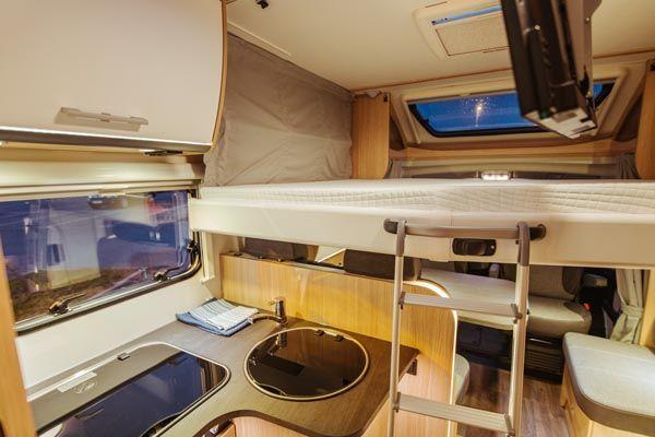 alquiler de caravanas T68 ducha
